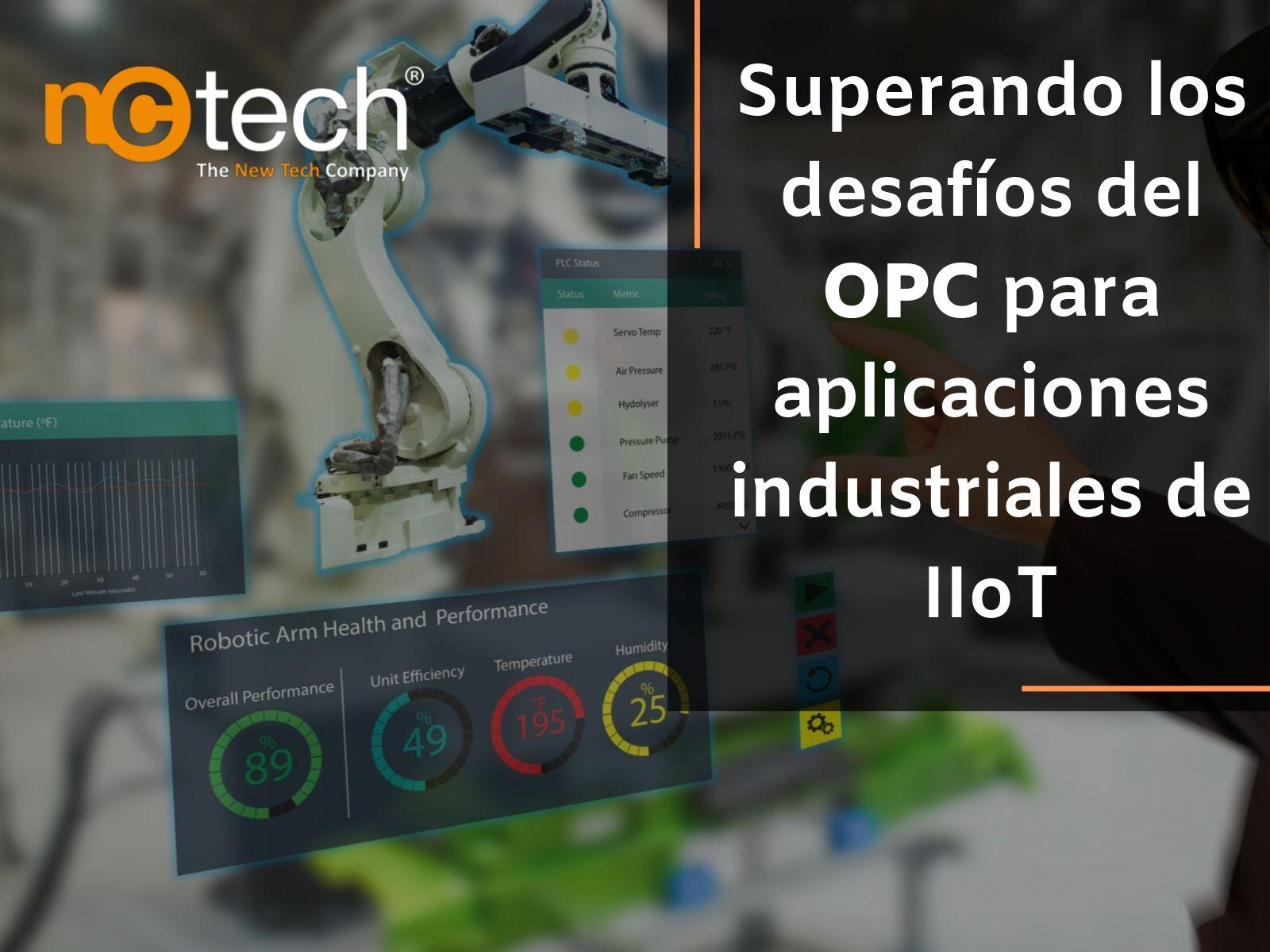 OPC, Industria, IIoT, Tenología